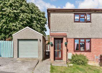 Thumbnail 2 bed semi-detached house for sale in Ashbrook, Brackla, Bridgend.