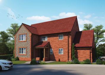 Thumbnail 4 bed detached house for sale in Holt Road, 1 The Limes, Edgefield, Melton Constable