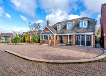 Thumbnail 3 bed detached house for sale in Meadway Close, Hednesford, Cannock