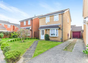 Thumbnail 3 bed detached house for sale in Ely Close, Flitwick, Bedford