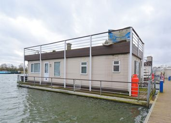 Thumbnail 2 bed detached house for sale in East Pontoon, Banks End, Hartford Marina, Huntingdon, Cambridgeshire