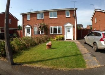 Thumbnail 2 bed semi-detached house to rent in Thames Way, Stafford