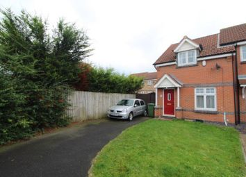 Thumbnail 2 bed semi-detached house to rent in Sandringham Drive, Blyth