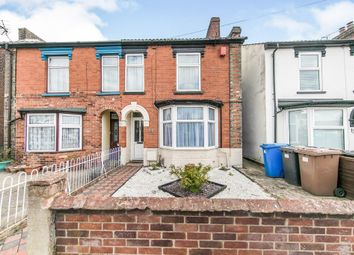 Thumbnail 3 bed semi-detached house for sale in Derby Road, Ipswich