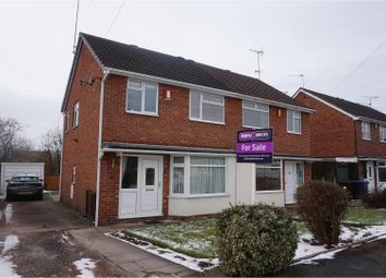 Thumbnail 3 bed semi-detached house for sale in Poplar Close, Blythe Bridge, Stoke-On-Trent