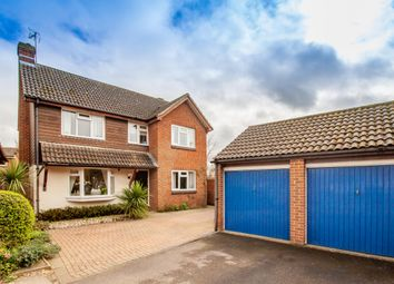 Thumbnail 4 bed detached house for sale in Loosen Drive, Maidenhead, Berkshire