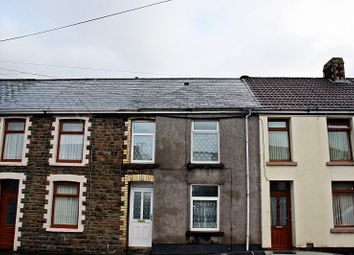 Thumbnail 3 bed terraced house for sale in Ogwy Street, Nantymoel, Bridgend, Bridgend County.