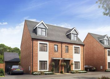Thumbnail 4 bedroom semi-detached house for sale in Campden Road, Long Marston, Stratford-Upon-Avon