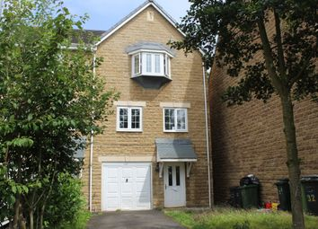 Thumbnail 4 bed end terrace house for sale in Wood View, Huddersfield