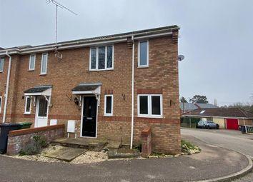 Thumbnail 3 bed end terrace house for sale in Southgates Drive, Fakenham
