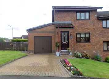 Thumbnail 2 bed semi-detached house for sale in Macfie Place, Stewartfield, East Kilbride