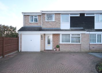 Thumbnail 4 bed semi-detached house for sale in Lincroft, Oakley, Bedford