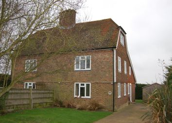 Thumbnail 3 bed semi-detached house to rent in Barnes Lane, Linton, Maidstone