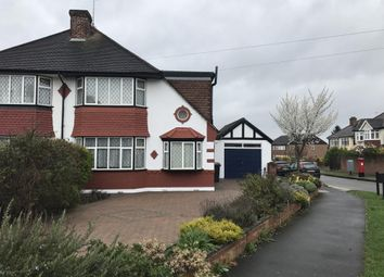 Thumbnail 4 bed semi-detached house to rent in Seaforth Gardens, Epsom
