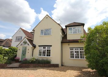 Thumbnail 4 bed detached house to rent in Highlands Road, Seer Green, Beaconsfield