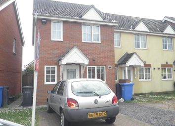 Thumbnail 2 bed property to rent in Sukey Way, Norwich