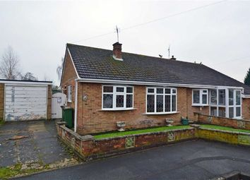 Thumbnail 2 bed semi-detached bungalow for sale in Springwell Close, Countesthorpe, Leicester