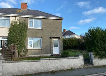 3 bed semi-detached house for sale in Precelly Place, Milford Haven, Pembrokeshire SA73