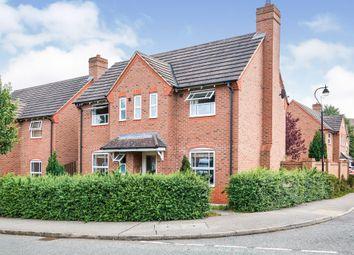 Thumbnail 3 bed detached house for sale in Quintonside, Grange Park, Northampton