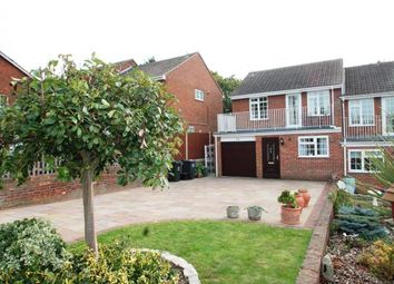 Thumbnail 4 bed semi-detached house for sale in Kemsley Close, Greenhithe, Dartford, Kent