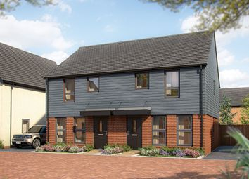 "Thumbnail 3 bed semi-detached house for sale in ""The Magnolia"" at Wavendon, Milton Keynes"
