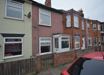 Thumbnail 3 bedroom terraced house to rent in Lorne Road, Lowestoft