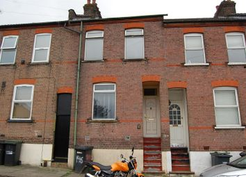 Thumbnail 4 bed terraced house to rent in Baker Street, Luton