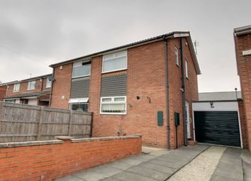 Thumbnail 2 bed semi-detached house for sale in Laurel Street, Throckley, Newcastle Upon Tyne