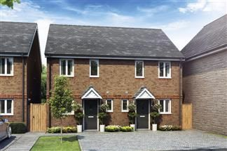 Thumbnail 2 bed semi-detached house for sale in The Bampton, Cloverfields, Didcot, Oxfordshire