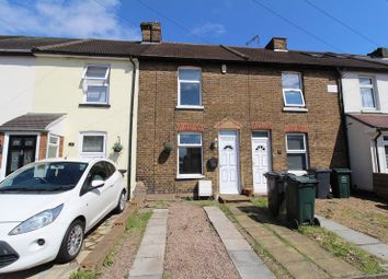 Thumbnail 2 bed terraced house for sale in Invicta Road, Stone, Dartford