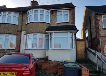 Thumbnail 3 bed end terrace house to rent in Marsh Road, Luton