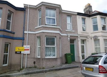 Thumbnail 1 bed flat to rent in Mildmay Street, Plymouth