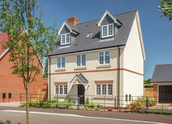 "Thumbnail 4 bedroom detached house for sale in ""The Oatfield"" at Nosworthy Way, Mongewell, Wallingford"