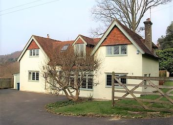 Thumbnail 4 bed detached house to rent in Pitch Hill, Cranleigh, Surrey