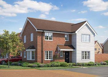 "Thumbnail 3 bed property for sale in ""Newton"" at Wetherden Road, Elmswell, Bury St. Edmunds"
