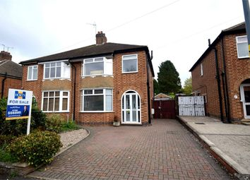 Thumbnail 3 bed semi-detached house for sale in Lyndhurst Road, Hillmorton, Rugby, Warwickshire