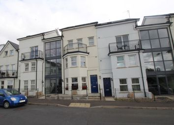 Thumbnail 2 bed flat for sale in Linen Crescent, Bangor