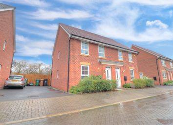 Thumbnail 3 bed semi-detached house for sale in Elvaston Drive, Littleover, Derby