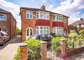 Thumbnail 3 bed semi-detached house to rent in Pentland Close, Golders Green