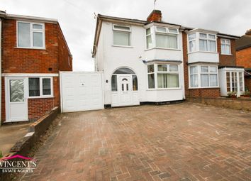 Thumbnail 3 bed semi-detached house for sale in Una Avenue, Braunstone Town, Leicester