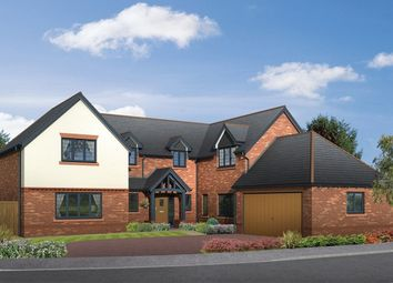 "Thumbnail 5 bedroom detached house for sale in ""The Hazelmere"" at Moor Lane, Wilmslow"