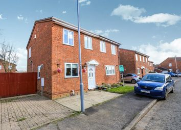 Thumbnail 2 bed semi-detached house for sale in Linbridge Way, Luton