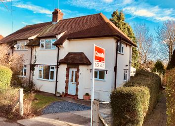 Thumbnail 3 bed semi-detached house for sale in Hall Mead, Letchworth Garden City