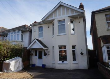 Thumbnail 4 bedroom detached house for sale in Edgehill Road, Bournemouth
