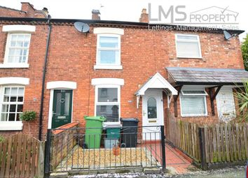 Thumbnail 2 bed terraced house to rent in Station Road, Winsford