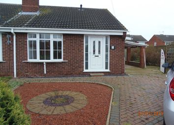 Thumbnail 2 bed bungalow to rent in Ashworth Crescent, North Leverton, Retford
