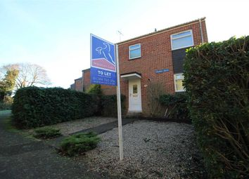 Thumbnail 2 bed end terrace house to rent in Grange Walk, Bury St. Edmunds