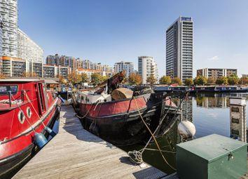 1 bed houseboat for sale in Boardwalk Place, Poplar Dock Marina, Poplar E14