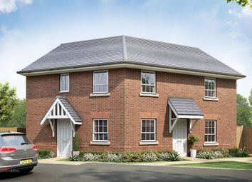 "Thumbnail 2 bedroom flat for sale in ""Layton"" at Beggars Lane, Leicester Forest East, Leicester"