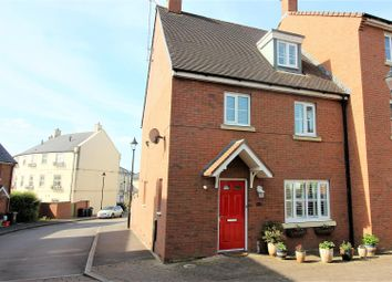 Thumbnail 4 bed end terrace house for sale in Britten Road, Swindon